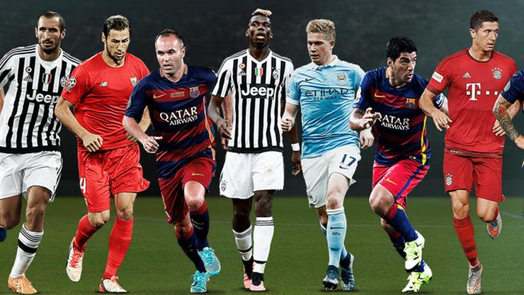 Lewandowski i Krychowiak nominowani do Drużyny Roku UEFA! Głosowanie rozpoczęte