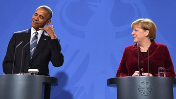 Obama: gdybym był Niemcem, w wyborach poparłbym Merkel