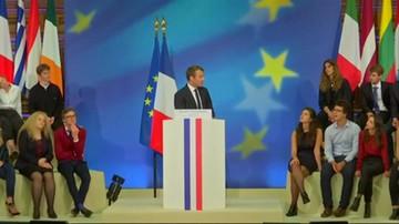 Wizja Unii Europejskiej według Macrona