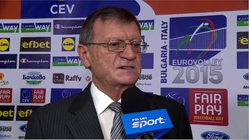 2015-10-19 Ostre słowa nowego szefa CEV: Mistrz Europy powinien grać na igrzyskach!