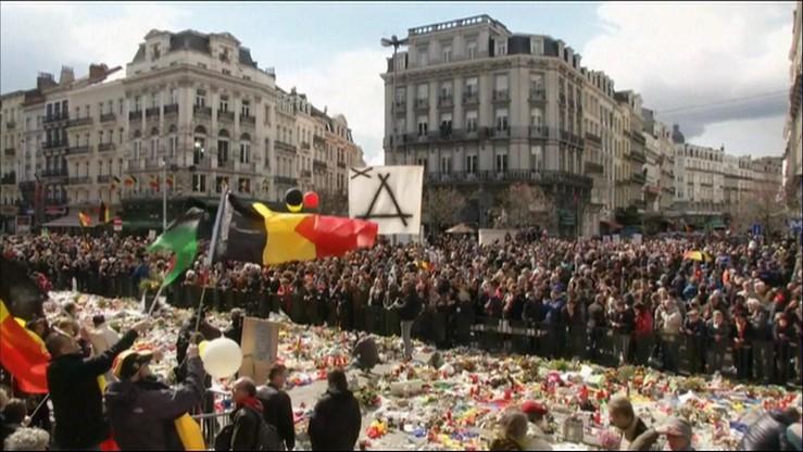 """""""Strach, brak zaufania - nie dopuścimy do tego"""". Marsz w Brukseli przeciwko terrorowi"""