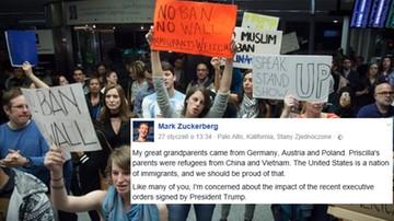 29-01-2017 10:56 Protesty po dekrecie Trumpa o zamknięciu granic USA. Zareagował m.in. Facebook, Apple i Twitter