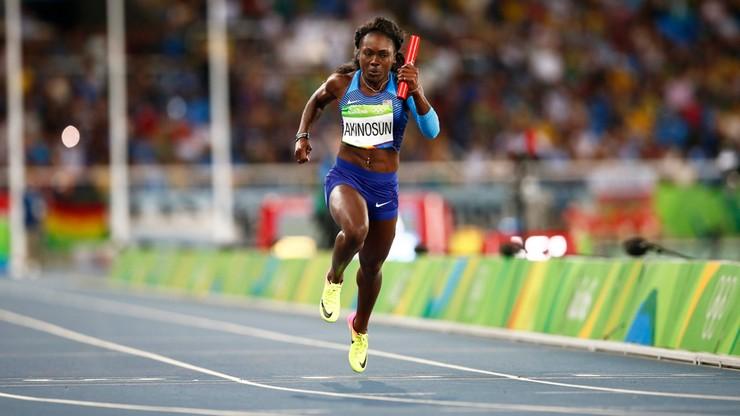 Znakomity czas w samotnym biegu! Amerykańskie sprinterki w finale