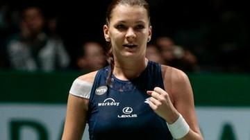 2015-10-29 WTA Finals - Radwańska wygrywa niesamowity mecz. Czeka na Szarapową
