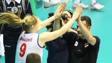 2017-05-25 El. MŚ 2018: Trzecie zwycięstwo siatkarek Serbii