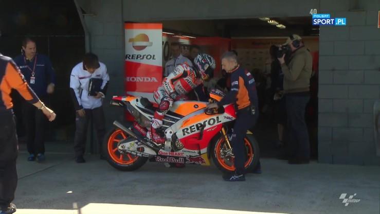 Marquez najszybszy pierwszego dnia testów MotoGP w Australii