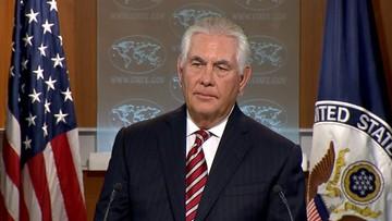 """""""Doszło do realnej erozji zaufania"""". Tillerson ostrzega Pakistan przed wspieraniem terroryzmu"""
