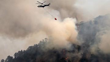 21-06-2016 20:20 Płonie las na Cyprze! Dwóch strażaków nie żyje! Kraj błaga o samoloty gaśnicze!