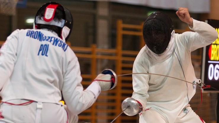 Uniwersjada: Broniszewski z brązowym medalem w turnieju szpadzistów