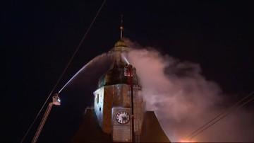 Demontaż iglicy i kopuły. Prokuratura wszczyna śledztwo w sprawie pożaru katedry w Gorzowie