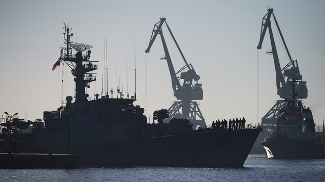 Trzy okręty NATO przybyły z roboczą wizytą w Gdyni