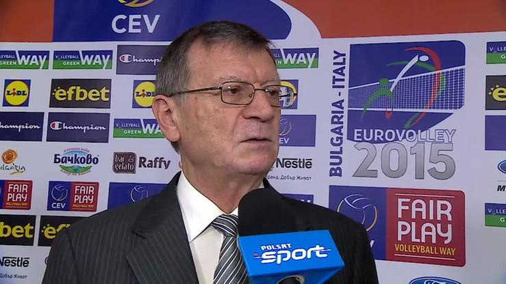 Boricic: Mistrz Europy powinien grać na igrzyskach!