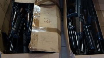 Bytom: arsenał broni znaleziony w garażu