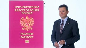 11-09-2017 11:08 Zmiany w projekcie paszportu. Nie będzie wzbudzających kontrowersje wizerunków Ostrej Bramy i Cmentarza Orląt Lwowskich
