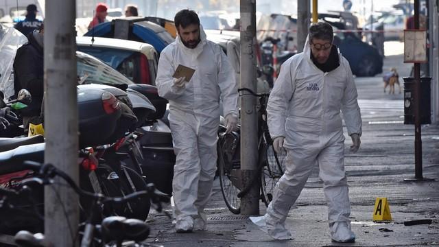 Włochy: policjant ranny w eksplozji ładunku podłożonego we Florencji