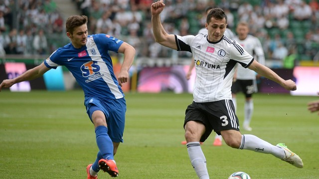 Ekstraklasa: Legia straciła pozycję lidera