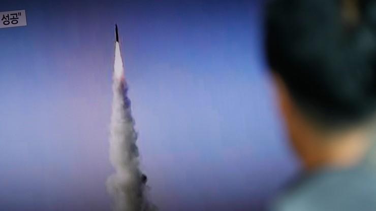 Korea Płn. wystrzeliła pocisk balistyczny
