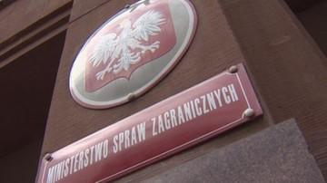 """02-02-2017 18:12 MSZ odpowiada na list Tuska. """"Polska nie podziela diagnozy szefa Rady Europejskiej"""""""