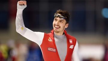 2015-12-06 Waś najszybszy w Inzell w wyścigu na 500 m