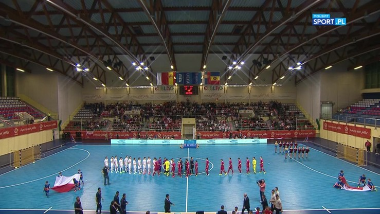 El. ME: Polska - Serbia 0:4. Skrót meczu