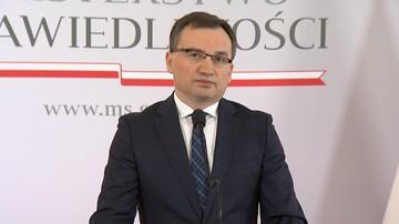 """15-11-2017 12:29 Ziobro podsumowuje dwa lata pracy. """"Chcemy uczynić Polskę krajem sprawiedliwym, w którym wszyscy są równi wobec prawa"""""""