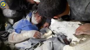 Syria: chłopiec uratowany spod gruzów