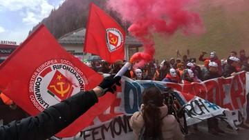 24-04-2016 19:17 Austriacka policja starła się z demonstrantami na przełęczy Brenner