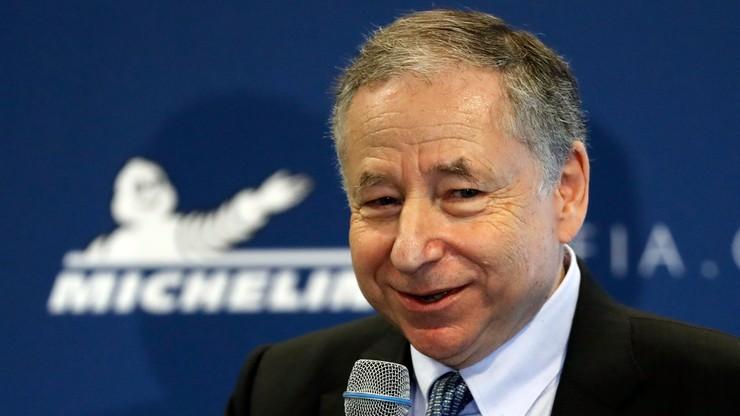 Todt po raz trzeci wybrany prezydentem FIA