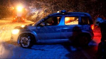 2016-12-05 Tragedia w lesie koło Bisztynka. Zmarła znaleziona tam 19-latka