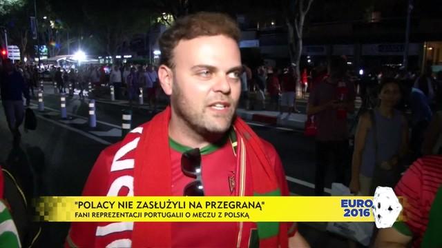 Portugalscy kibice docenili grę Polaków