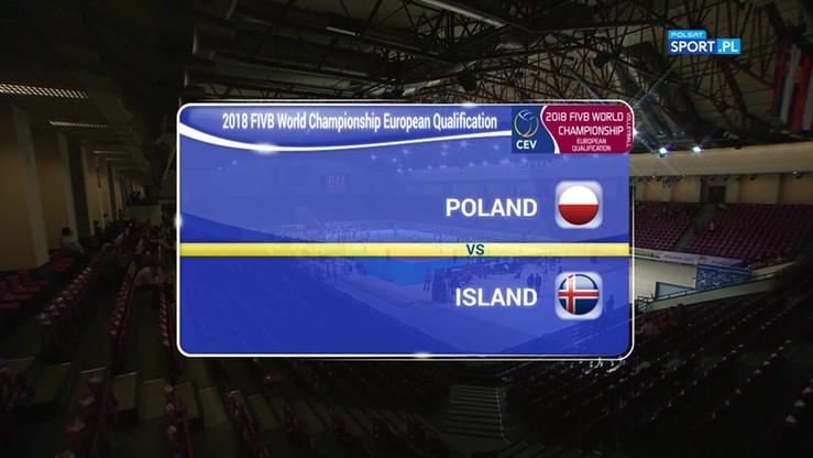 2017-05-24 Polska - Islandia 3:0. Skrót meczu