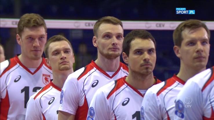 Biełogorie Biełgorod – ZAKSA Kędzierzyn-Koźle 3:1. Skrót meczu