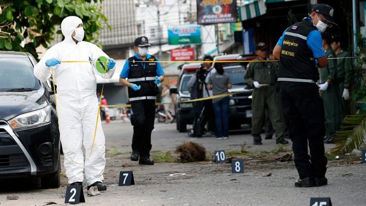 Policja o atakach bombowych w Tajlandii: to dzieło jednej osoby