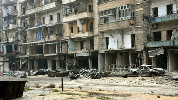"""""""Oni chcą nas wszystkich zabić"""". Mimo rozejmu w Aleppo wznowiono walki i naloty"""
