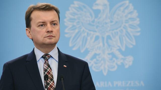 Błaszczak: Nie byłoby ekshumacji, gdyby Donald Tusk zadbał o wyjaśnienie katastrofy