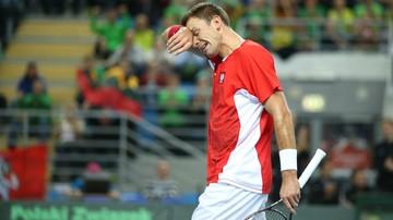 2017-01-10 Kubot po heroicznym meczu pożegnał się z Sydney
