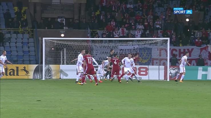 2017-10-05 Armenia - Polska 1:3. Gol Hambardzumyana