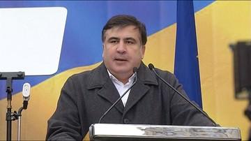 26-07-2017 20:21 Prezydent Ukrainy pozbawił obywatelstwa Micheila Saakaszwilego