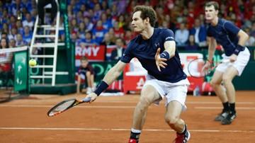 2015-11-28 Puchar Davisa: Brytyjczycy prowadzą w finale 2:1 po deblu