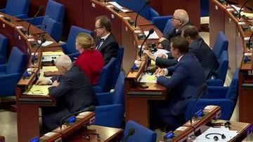 Rada Europy debatowała o Polsce. Przyjęto rezolucję o zagrożeniu dla rządów prawa
