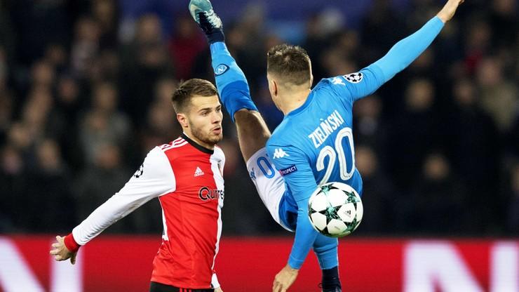 Liga Mistrzów: Zieliński strzelił, ale Napoli za burtą. 33 gole w ośmiu meczach!