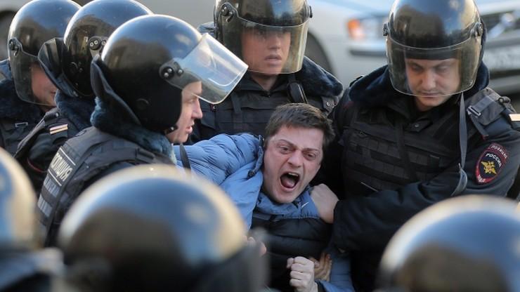 USA potępiły aresztowania demonstrantów w Rosji