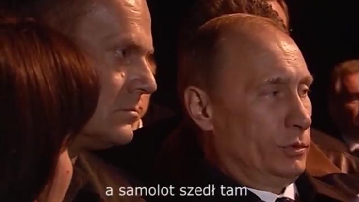 MON opublikował nagranie spotkania Tuska z Putinem. Przetłumaczone