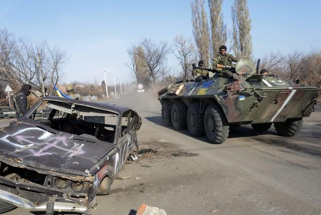 Ukraina: kontrole paszportowe na granicy z Donbasem