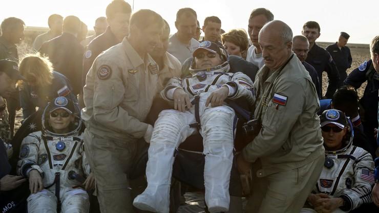 Troje członków załogi Międzynarodowej Stacji Kosmicznej powróciło na Ziemię