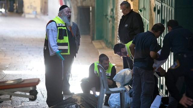 Izrael: kolejny atak palestyńskiego nożownika w Jerozolimie