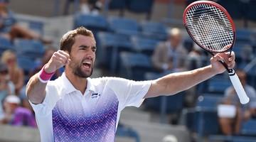 2015-09-06 US Open: Cilic skręcił kostkę... i awansował do 1/8 finału