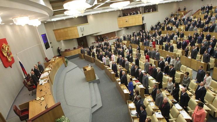 """""""Bluźnierczy akt"""". Rosyjska Duma krytykuje polską ustawę o zakazie propagowania komunizmu"""