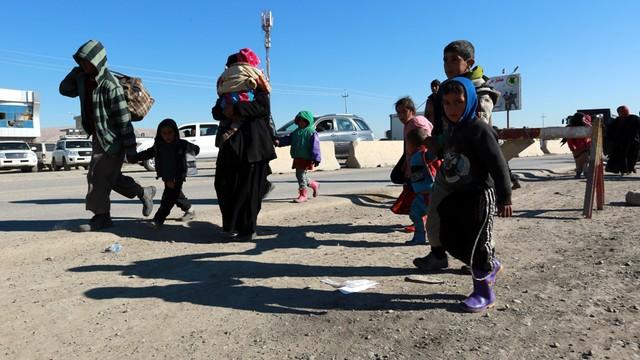 Irak: około 160 tysięcy przesiedlonych w związku z ofensywą na Mosul