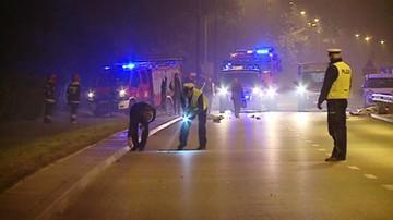 Wejherowo: motocyklista potrącił pieszą. Oboje nie żyją